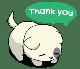 Caramel : Naughty dog sticker #3923039