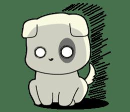 Caramel : Naughty dog sticker #3923044