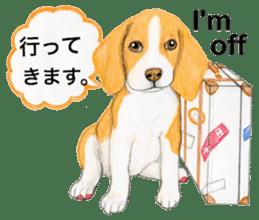 Taiwan travel of beagle dogs sticker #3931207