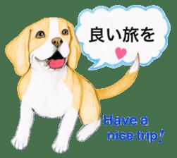 Taiwan travel of beagle dogs sticker #3931210
