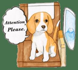 Taiwan travel of beagle dogs sticker #3931211