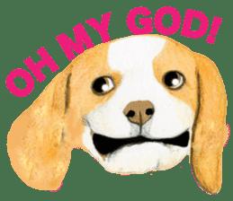 Taiwan travel of beagle dogs sticker #3931213