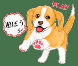 Taiwan travel of beagle dogs sticker #3931216
