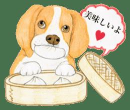 Taiwan travel of beagle dogs sticker #3931218