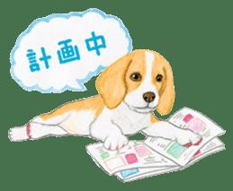 Taiwan travel of beagle dogs sticker #3931225