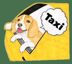Taiwan travel of beagle dogs sticker #3931227