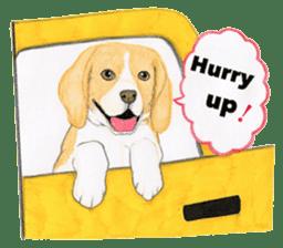 Taiwan travel of beagle dogs sticker #3931228