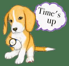 Taiwan travel of beagle dogs sticker #3931229