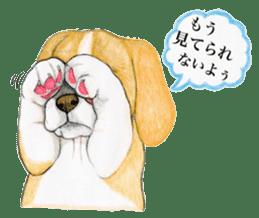 Taiwan travel of beagle dogs sticker #3931231
