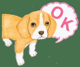 Taiwan travel of beagle dogs sticker #3931233