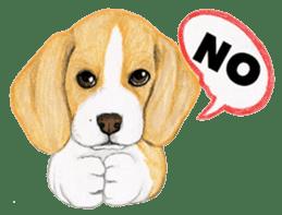 Taiwan travel of beagle dogs sticker #3931234