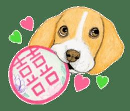Taiwan travel of beagle dogs sticker #3931244