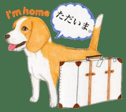Taiwan travel of beagle dogs sticker #3931245