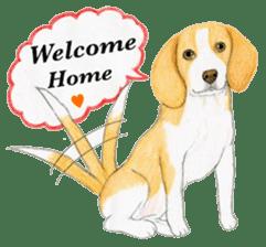 Taiwan travel of beagle dogs sticker #3931246