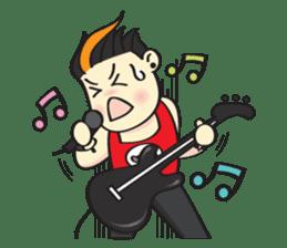 I'm A Rock Star (English) sticker #3938332