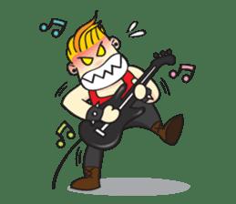 I'm A Rock Star (English) sticker #3938339