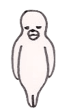 azarashi-kun sticker #3942303