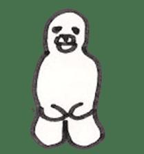 azarashi-kun sticker #3942310