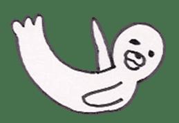 azarashi-kun sticker #3942325
