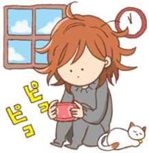 Indoor-based girls sticker #3947169