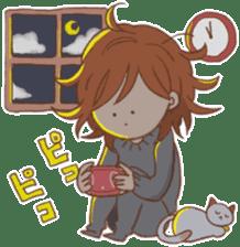 Indoor-based girls sticker #3947170