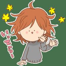 Indoor-based girls sticker #3947171