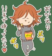 Indoor-based girls sticker #3947172