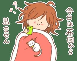 Indoor-based girls sticker #3947185