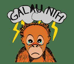 Baby Orangutan (Indonesian) sticker #3950888