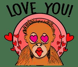 Baby Orangutan (Indonesian) sticker #3950891