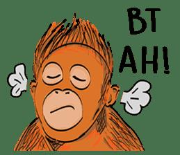 Baby Orangutan (Indonesian) sticker #3950895