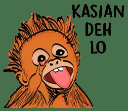 Baby Orangutan (Indonesian) sticker #3950898
