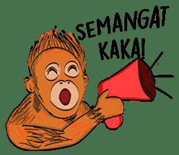 Baby Orangutan (Indonesian) sticker #3950901