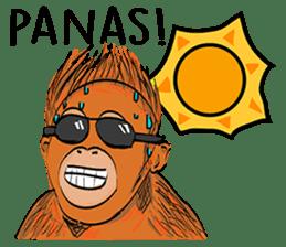 Baby Orangutan (Indonesian) sticker #3950904