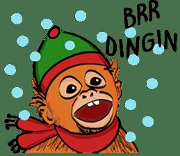 Baby Orangutan (Indonesian) sticker #3950906