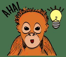 Baby Orangutan (Indonesian) sticker #3950912