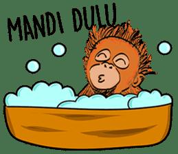 Baby Orangutan (Indonesian) sticker #3950914