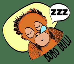 Baby Orangutan (Indonesian) sticker #3950915