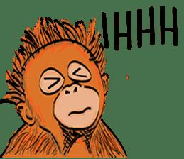 Baby Orangutan (Indonesian) sticker #3950916