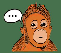 Baby Orangutan (Indonesian) sticker #3950918