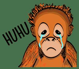Baby Orangutan (Indonesian) sticker #3950920