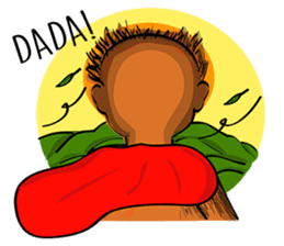 Baby Orangutan (Indonesian) sticker #3950921