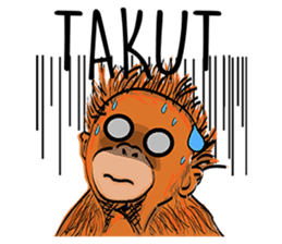 Baby Orangutan (Indonesian) sticker #3950922