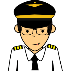 Cute Pilot Cartoons 2