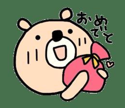 Loose bear sticker sticker #3960536