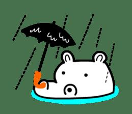 Kaba Hippo Boy sticker #3968583