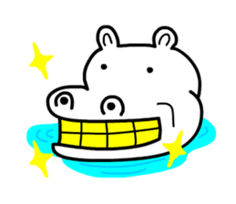 Kaba Hippo Boy sticker #3968588