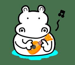 Kaba Hippo Boy sticker #3968589
