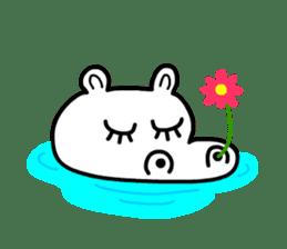 Kaba Hippo Boy sticker #3968590