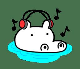 Kaba Hippo Boy sticker #3968595